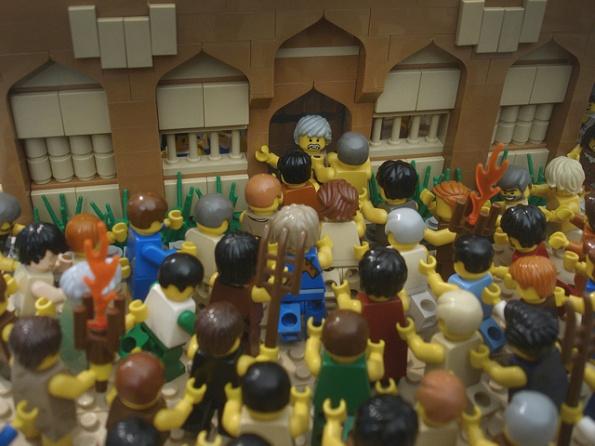 Seluruh Penduduk kota SODOM ingin mencelakai 2 Malaikat YAHWEH