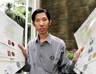 welin kusuma orang Indonesia mempunyai akademis terbanyak