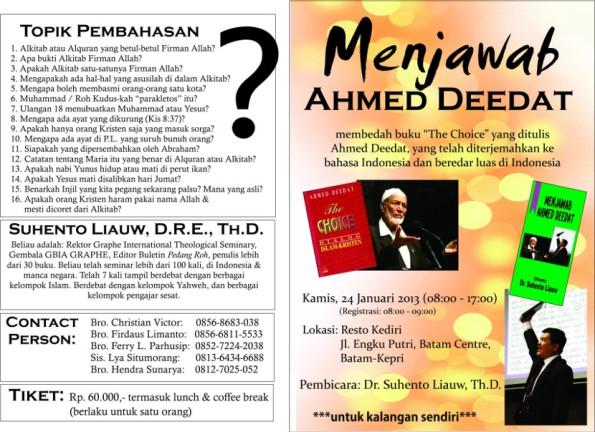brosur_seminar_deedat_batam