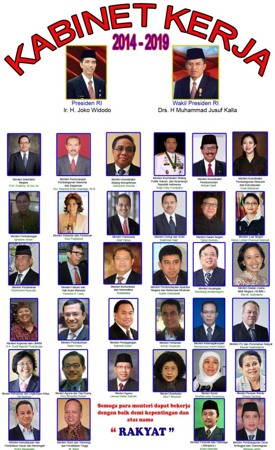 Kabinet-Kerja-Jokowi-JK-2014-2019